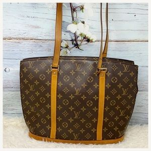 Authentic Louis Vuitton Monogram Babylon Large Bag